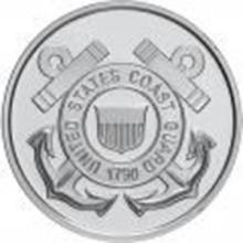 US Coast Guard .999 Silver 1 oz Round #27441v2