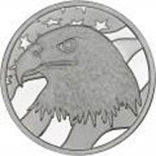 Pledge Of Allegiance .999 Silver 1 oz Round #27440v2