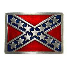 CONFEDERATE FLAG BELT BUCKLE #27267v2