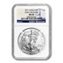 2015 Silver American Eagle MS-69 NGC (Early Releases) #27289v2