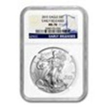 2015 Silver American Eagle MS-70 NGC (Early Releases) #27287v2
