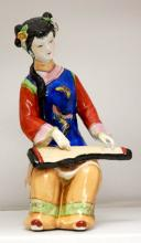 HOME DECOR CHINESE PORCELAIN WOMEN FIGURINE #73952v1