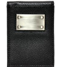 VISOL BENJAMIN GENUINE LEATHER WALLET W/MONEY CLI[ #70585v1