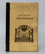 Theodore Roosevelt Masonic Folding Pocket Knife w/Book Display Box #50425v1