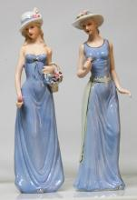 2 WOMAN HOLDING FLOWERS #79885v1