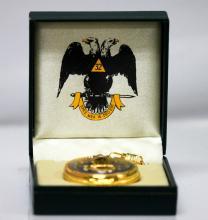 Latin Masonic Eagles  Pocket Watch #50393v1