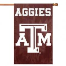 Texas Am Applique Banner Flag #71902v2