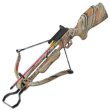 150 LBS RECURVE CAMOUFLAGED CROSSBOW COMES W/ 2 ALUMINUM ARROWS #75210v2