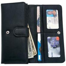 Embassy Ladies' Solid Genuine Leather Wallet #48633v2