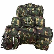 Extreme Pak Water Repellent 5pc Luggage Set with Invisible Pattern Camo #48624v2