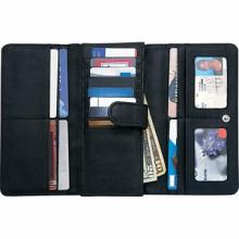 Embassy Ladies' Solid Genuine Leather Wallet with RFID Security #48632v2