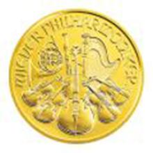 Austrian Gold Philharmonic 1 Ounce - Random Year #49110v2