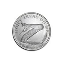 2015 1 oz Silver Round - Don't Tread On Me Snake #48964v2