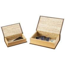 2pc Faux Book Safe Set #48725v2