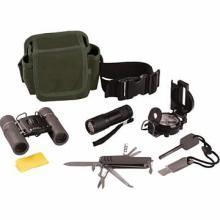 Classic Safari 6pc Hiking/Camping/Explorer Outdoor Kit #48706v2