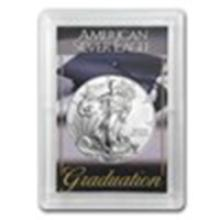 2015 1 oz Silver American Eagle BU (Graduation, Harris Holder) #49019v2