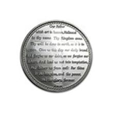 1 oz Silver Round - Lord's Prayer (w/Red Pouch & Cap) #48938v2