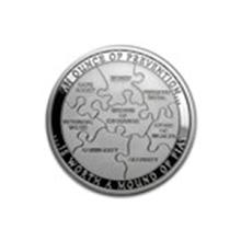 1 oz Silver Round - Security #48850v2