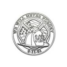 1 oz Silver Round - We Will Never Forget #48853v2