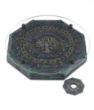 Tree of Life/Pentagram Ouija Board #48538v2