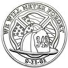 1 oz Silver Round - We Will Never Forget #49007v2