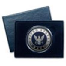 1 oz Silver Round - U.S. Navy (Enameled, w/Box & Capsule) #49017v2