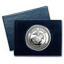 1 oz Silver Round - U.S. Marines (w/Box & Capsule) #49006v2