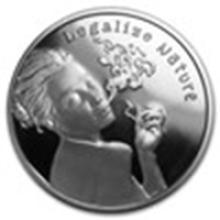 2015 1 oz Silver Round - Legalize Nature Proof (w/Box & COA) #49010v2