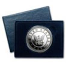 1 oz Silver Round - U.S. Navy (w/Box & Capsule) #49015v2