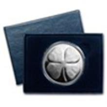 1 oz Silver Round - Four Leaf Clover (w/Box & Capsule) #49008v2
