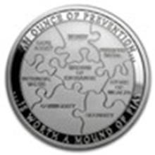 1 oz Silver Round - Security #49004v2