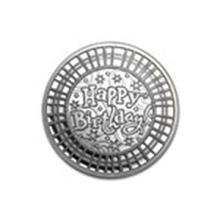 1 oz Silver Round - Happy Birthday Mosaic #48985v2