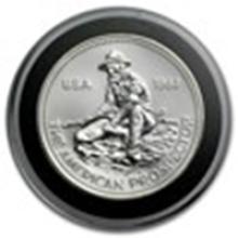 1 oz Silver Round - Engelhard Prospector (1983/E) #49005v2
