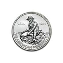 1 oz Silver Round - Engelhard Prospector (1984/E) #48990v2