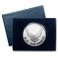 1 oz Silver Round - U.S. Air Force (w/Box & Capsule) #49014v2