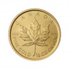 2015 1/2 oz Canadian Gold Maple Leaf Uncirculated #49050v2