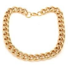 Necklace Set 18 Karat Gold on Stainless Steel at #89712v2