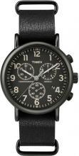 TIMEX Weekender Over sized Chronograph Black Dial Black #44507v2