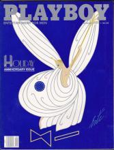 VINTAGE JANUARY 1987 PLAYBOY MAGAZINE - HOLIDAY ANNIVER #46909v2