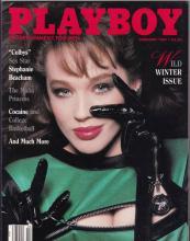 VINTAGE FEBUARY 1987 PLAYBOY MAGAZINE - WINTER WILD - S #46904v2