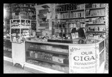 Interior of People's Drug Store 12x18 Giclee on canvas #75264v2