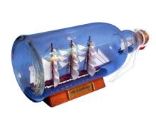 Nautical USS Constitution Ship in a Bottle 11