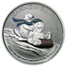 2016 Canada 1/4 oz Silver $25 Winter Fun #75846v2