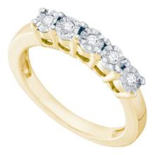 925 Sterling Silver Yellow 0.15CTW DIAMOND FASHION RING #57999v2