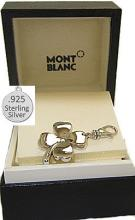 Vintage Boxed Mont Blanc Clover Leaf Charm with Diamond #91020v2