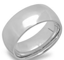 Steel 8 mm Wedding Band Ring jewelry #90697v2