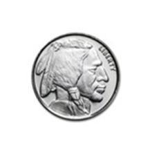 1/4 oz Silver Round - Buffalo #27028v2