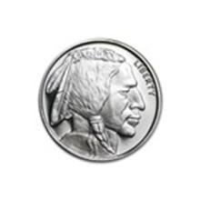 1/2 oz Silver Round - Buffalo #27023v2