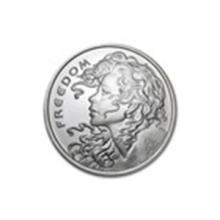 2015 1 oz Silver Round - Freedom Girl #27038v2