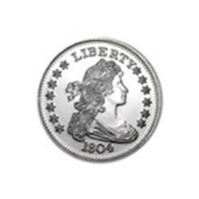 1 oz Silver Round - 1804 Silver Dollar #27026v2